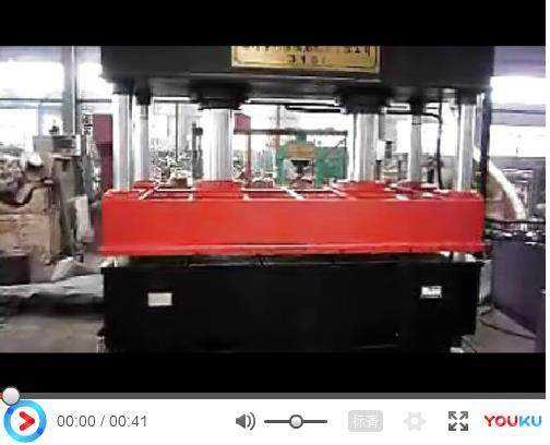<b>科信锻压315吨四柱液压机视频</b>