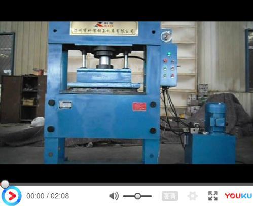 200吨龙门液压机视频